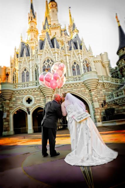 Walt Disney World Wedding Photo Shoot