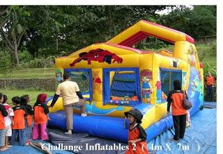Challange inflatable 2