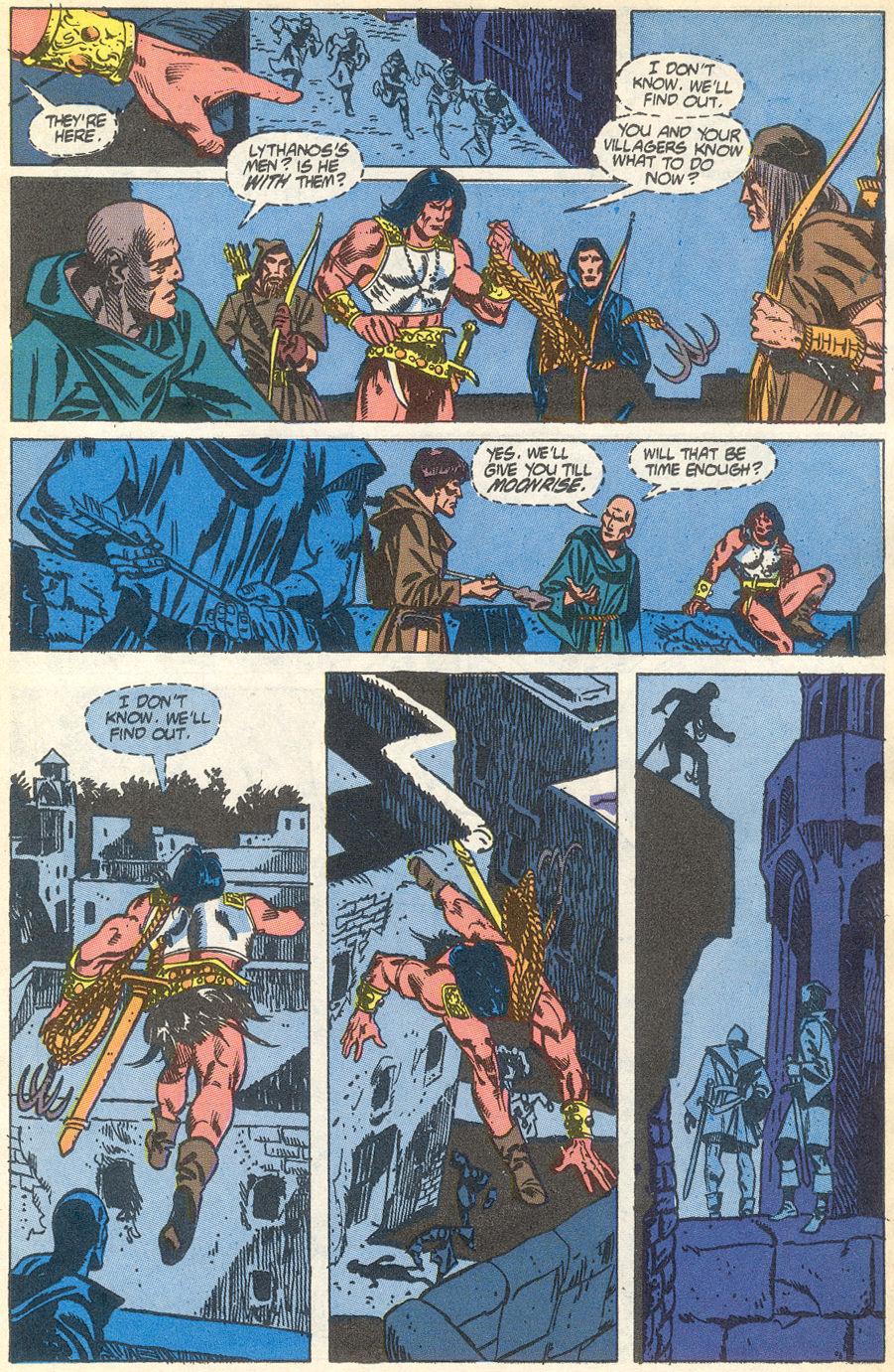 Conan the Barbarian (1970) Issue #231 #243 - English 10
