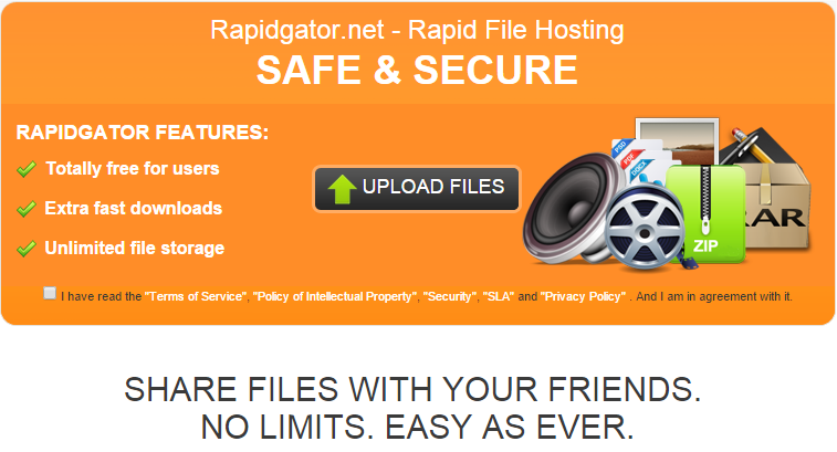 Rapidgator Premium Accounts And Cookies 2015