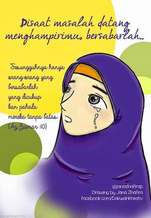 Gambar Wanita Muslimah Menangis