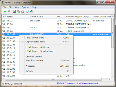 تحميل برنامج Wireless Network Watcher 1.47 برنامج مراقب الشبكة اللاسلكية