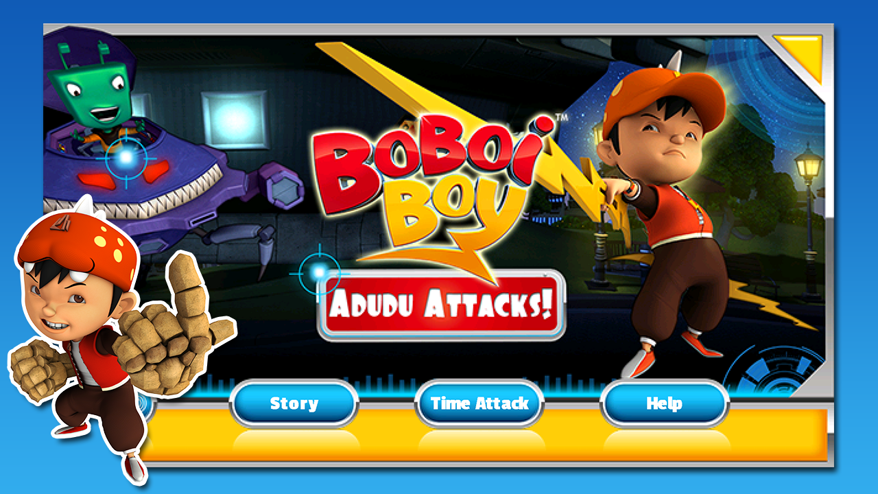 Game BoBoiBoy Android Adudu Attacks