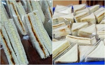 Sandwich Telur/Sardin
