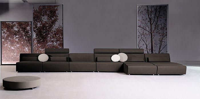 Decoraci n minimalista sofas minimalistas for Sofa minimalista