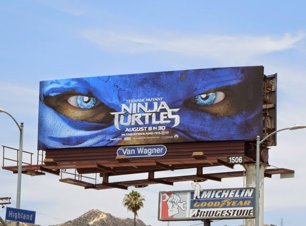 Teenage Mutant Ninja Turtles remake movie billboard