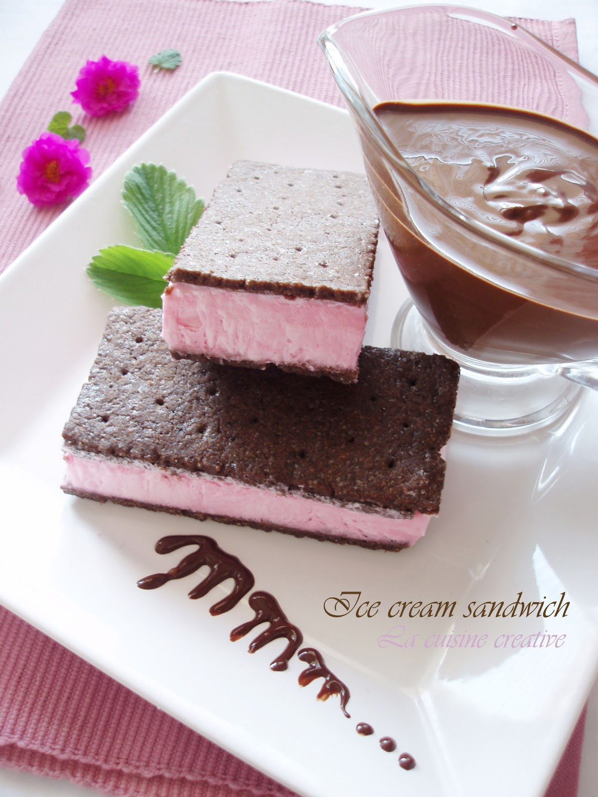 La cuisine creative: Classic ice cream sandwich