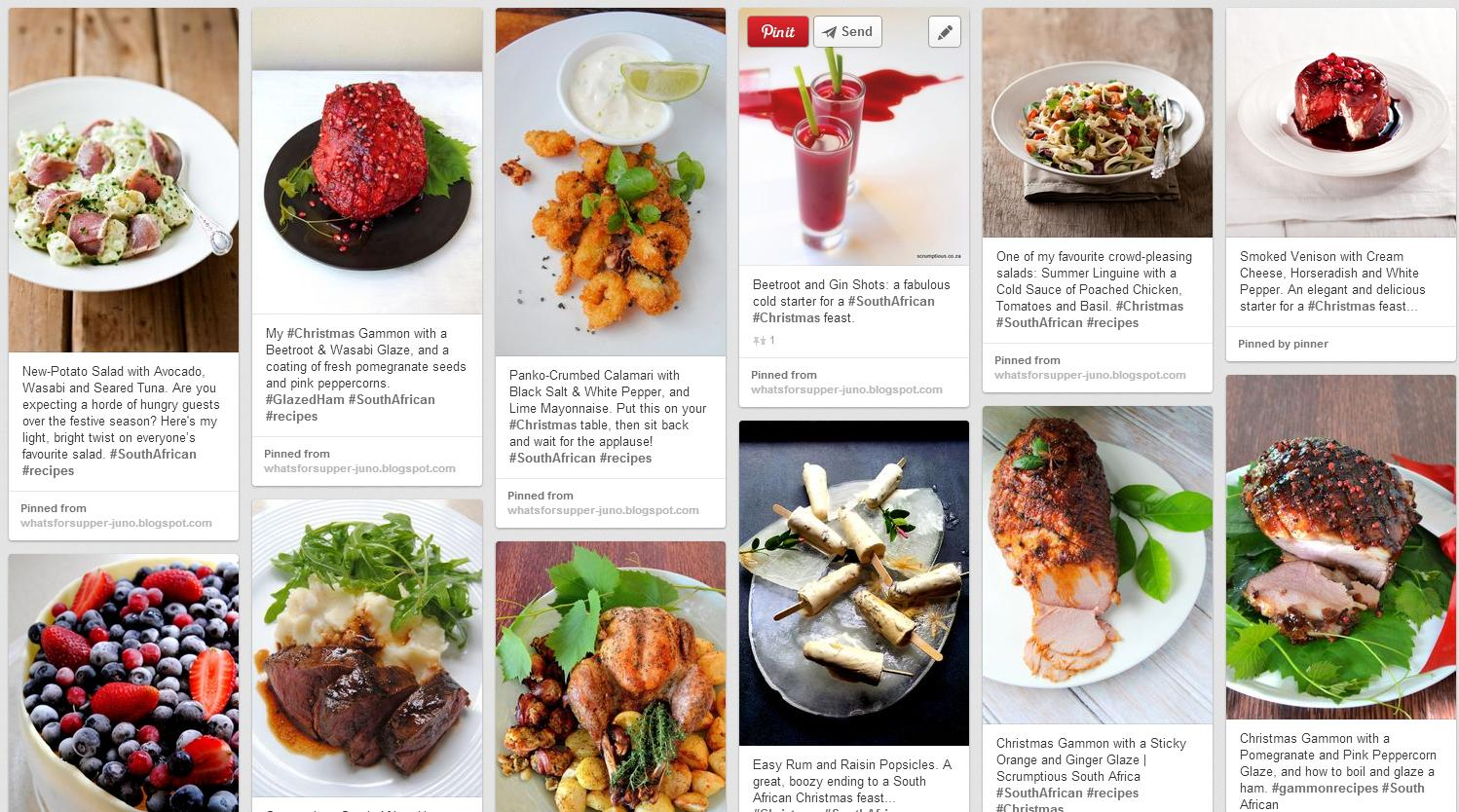 Scrumptious South Africa: My Christmas recipes on Pinterest