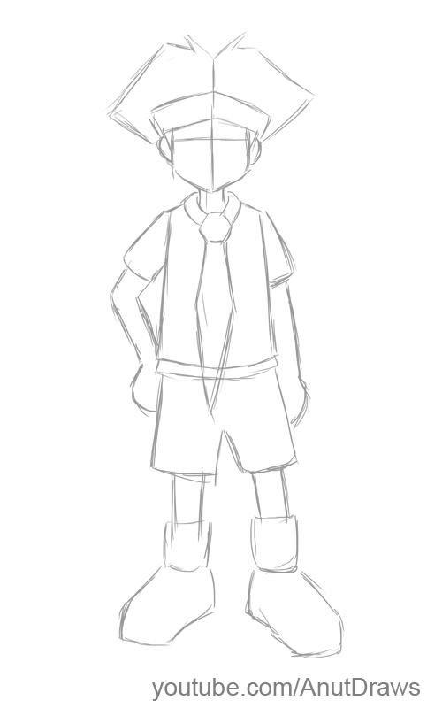 Anut Draws: How To Draw Anime - Tie