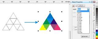 membuat logo menggunakan coreldraw