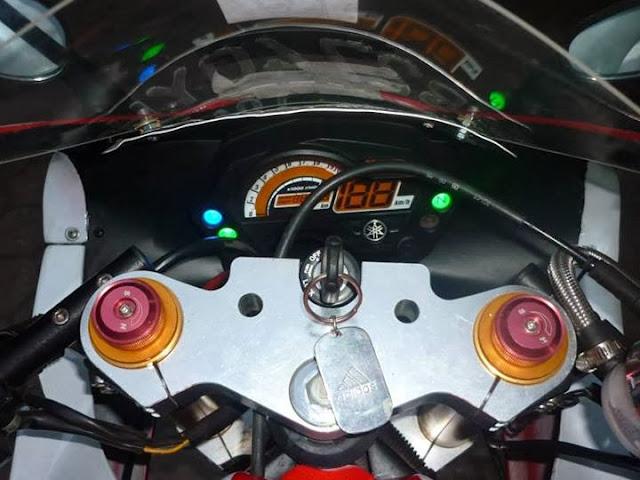 Modifikasi Yamaha Vixion Ala M1 2013