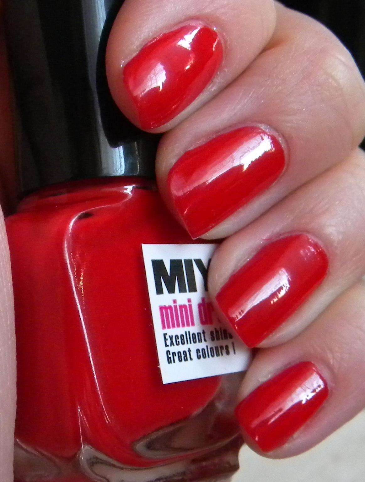 Miyo Mini Drops Royal Red 140