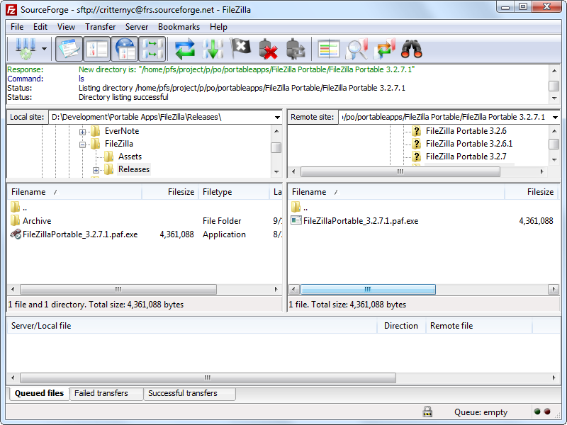 FileZilla (File Transfer) Download