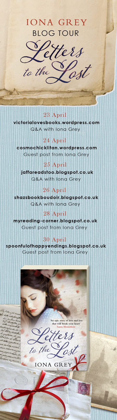 Letters to the Lost Blog Tour - April 2015