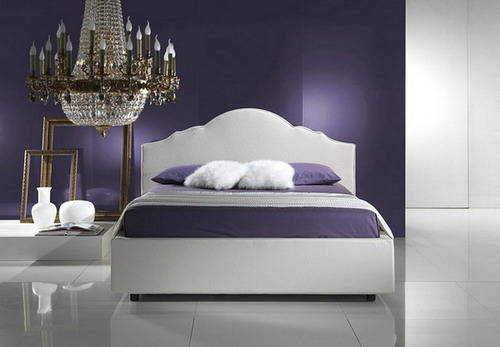 Bedroom Wall Paint Designs Magnificent With Blue Violet Bedroom Photos