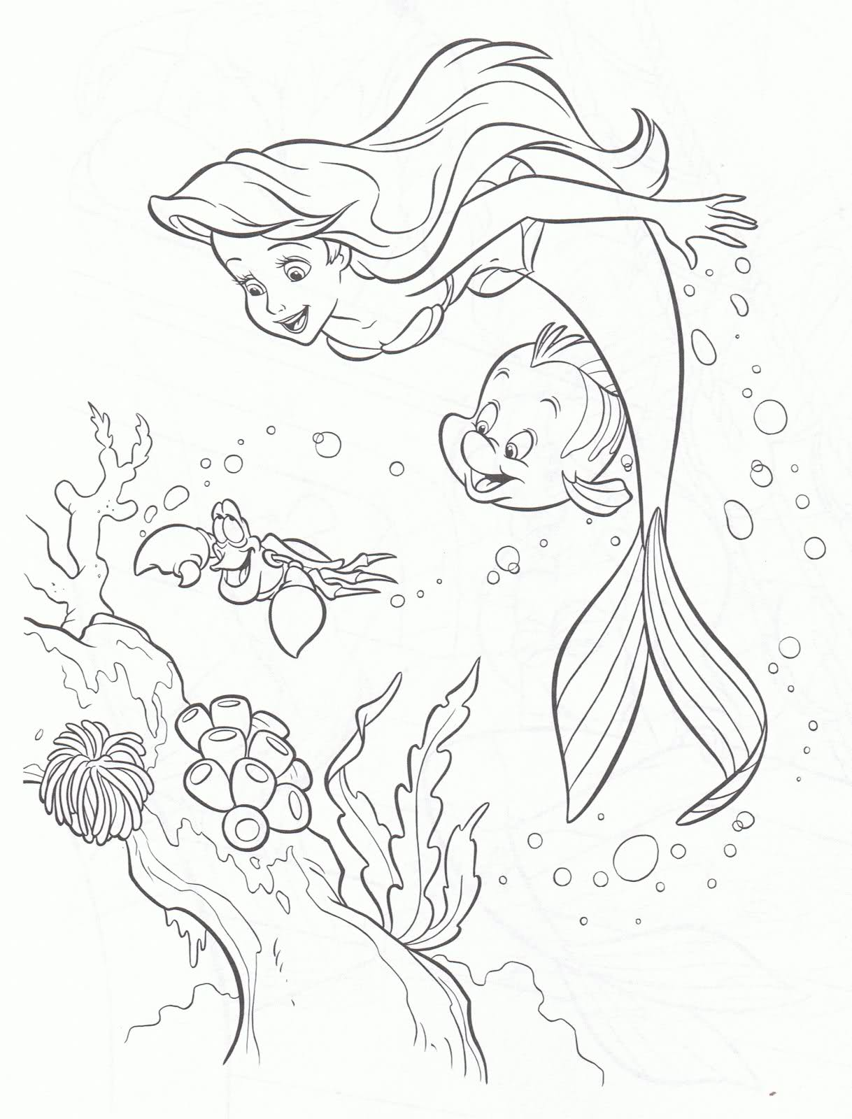 Barbie In A Mermaid Tale Coloring Pages  Barbie Mermaid Coloring Pages