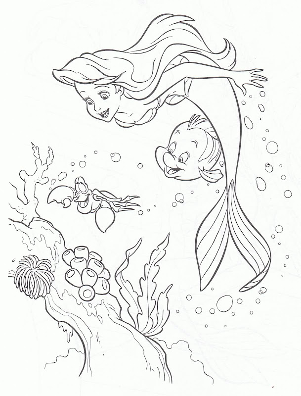 Thanks For Visiting Barbie In A Mermaid Tale Coloring Pages We