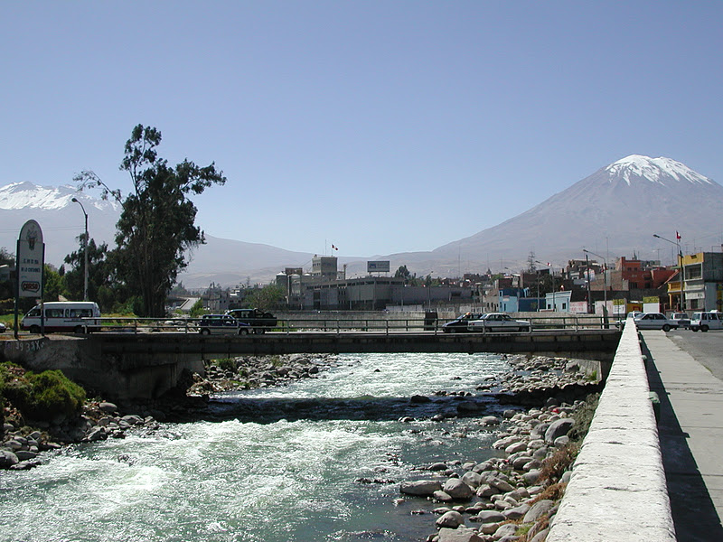 Puente San Martin Arequipa is Puente San Martin