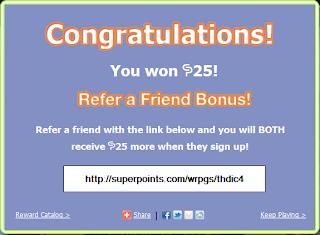 superpoints bonus invitation