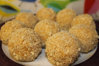 arancini ready to be cooked