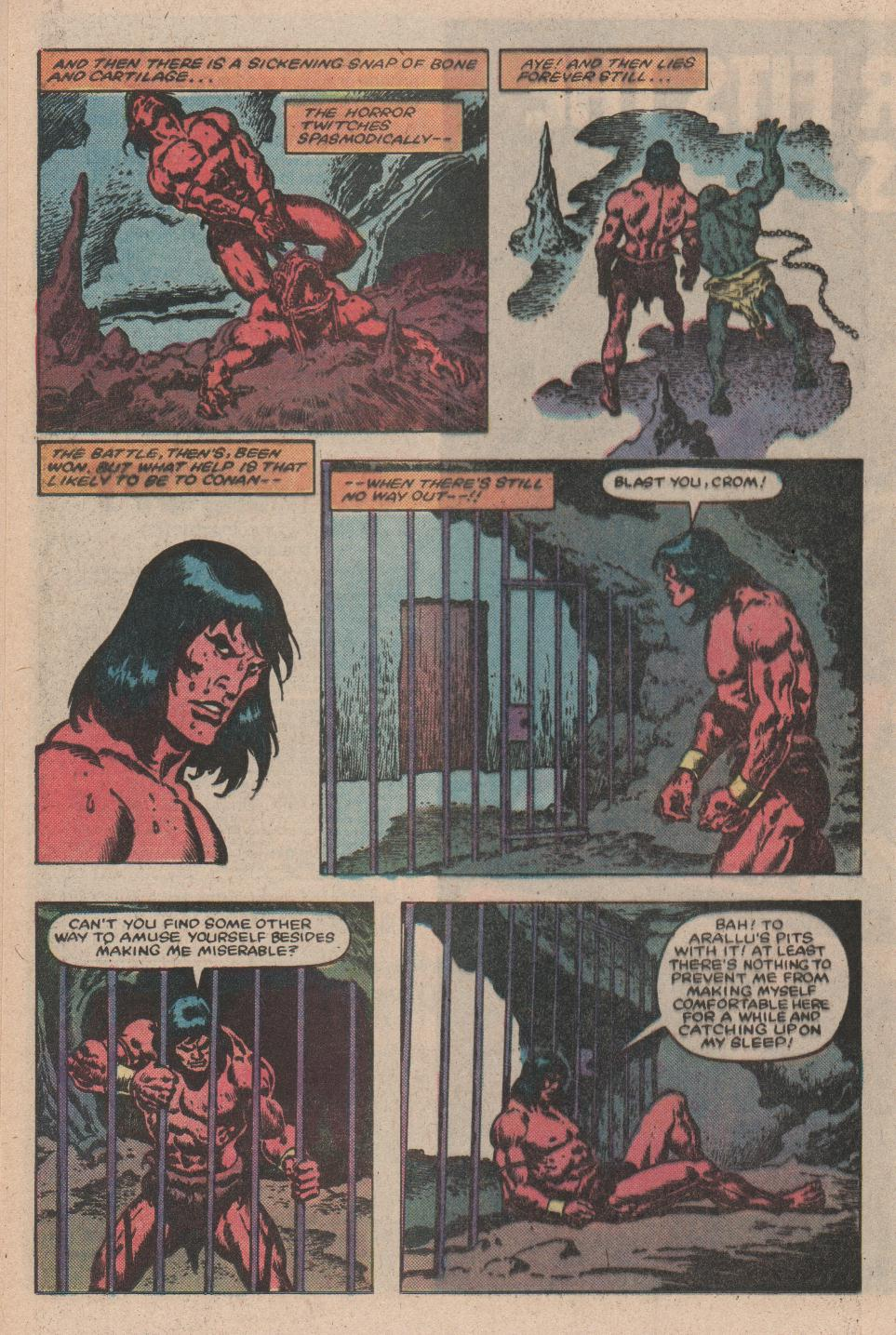 Conan the Barbarian (1970) Issue #156 #168 - English 14
