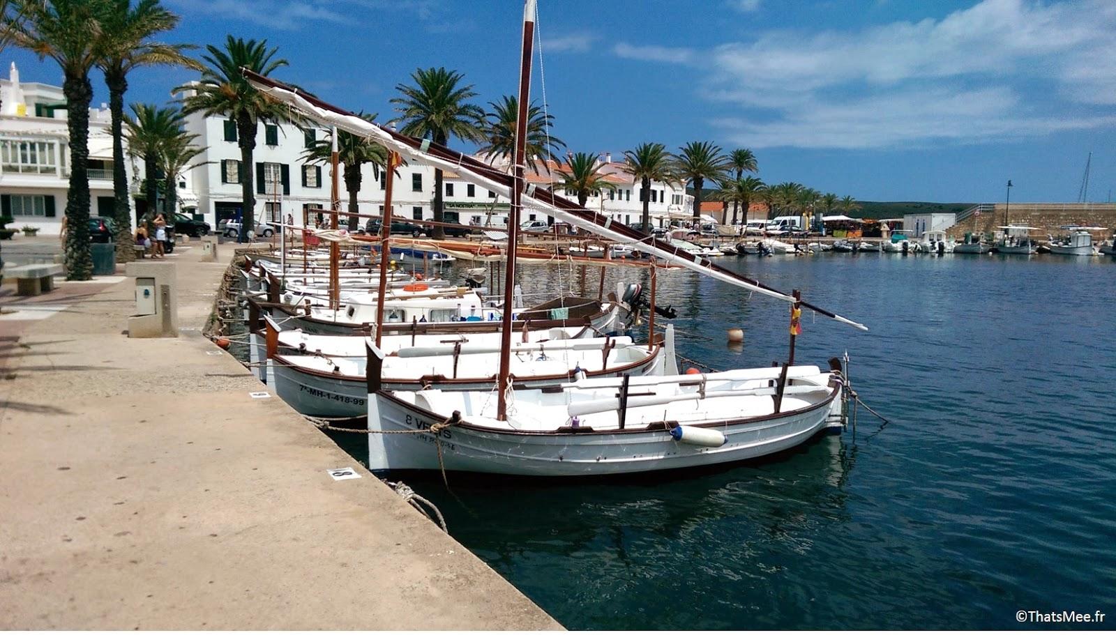 Port de Fornells Minorque Menorca calderata plat typique local