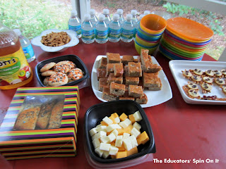Healthy Snacks for a halloween playdate