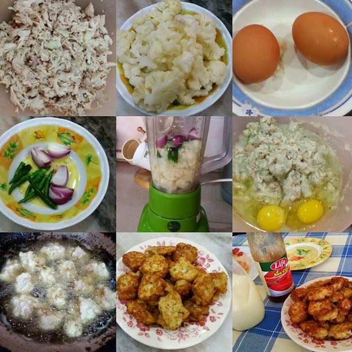 Resipi Nugget Ayam Tanpa Tepung Diet Atkins Style