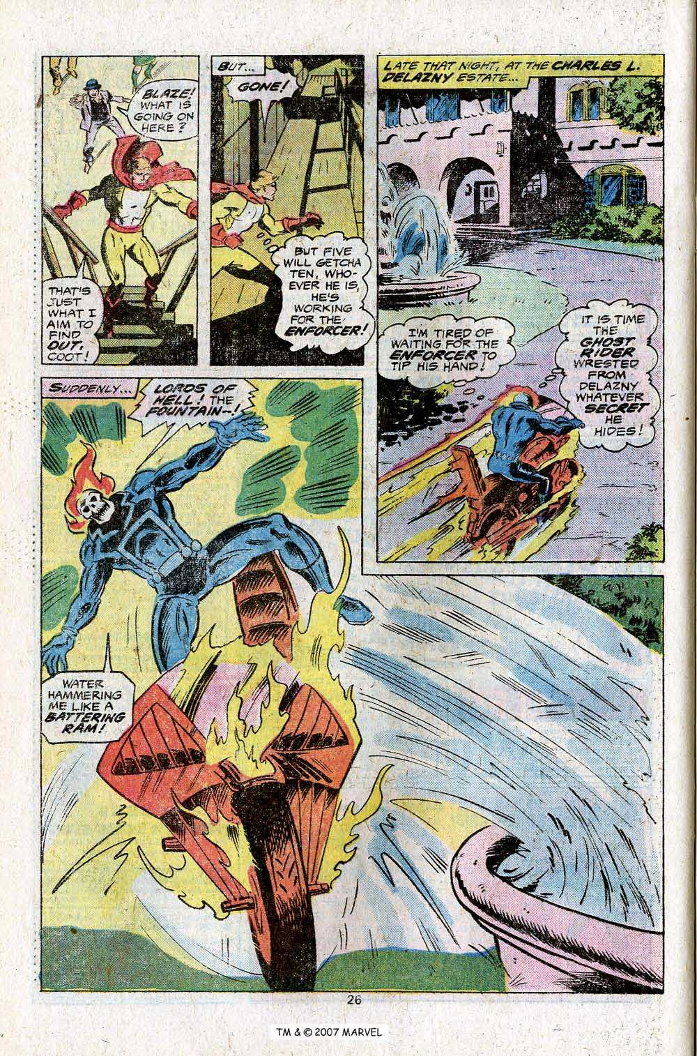 Ghost Rider (1973) Issue #23 #23 - English 28