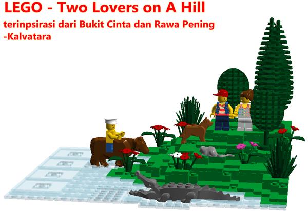 LEGO - Rawa Pening dan Bukit Cinta