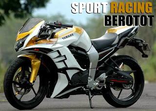 Yamaha Byson dengan modifikasi aliran sport racing dan sport fashion
