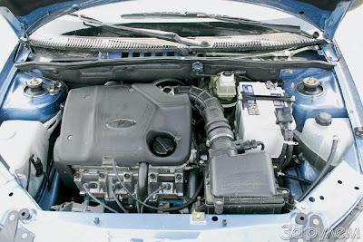 Двигатель Калины