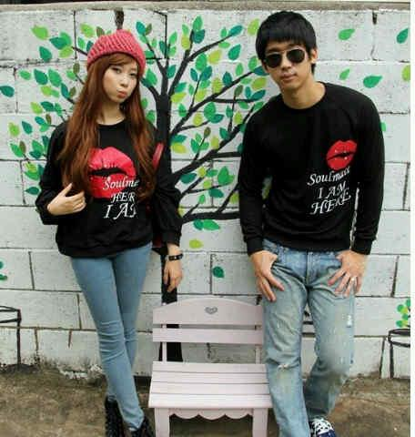 JUAL BAJU COUPLE KOREA, KAOS COUPLE KOREA, DRESS COUPLE KOREA ...