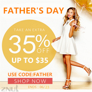 ZNU.COM Pre-Father's Day Sale