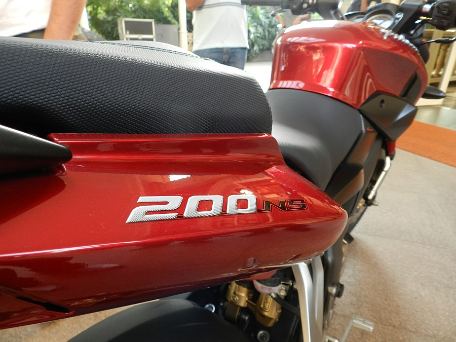 The First 2012 Bajaj Pulsar 200NS Hits The Road - Throttle Mag