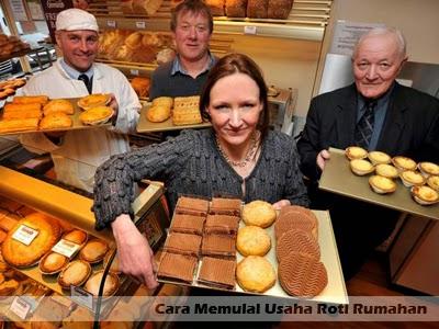 cara memulai usaha roti rumahan
