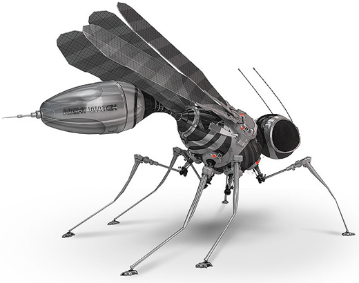 SmileCampus - Robotic Mosquitoes