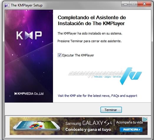 KMPlayer Versión 3.9.0.124 Final Español