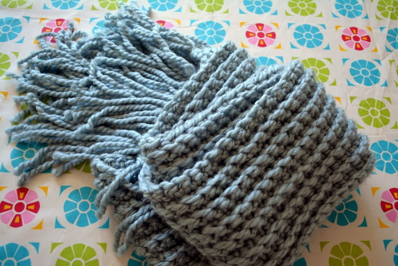 Free Crochet Patterns With Super Bulky Yarn : Modern Grace Design: New Bulky Scarf