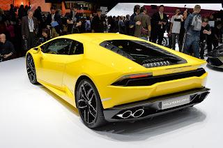 Lamborghini Huracán, detrás