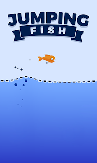 Screenshots of the Jumping fish for Android tablet, phone.