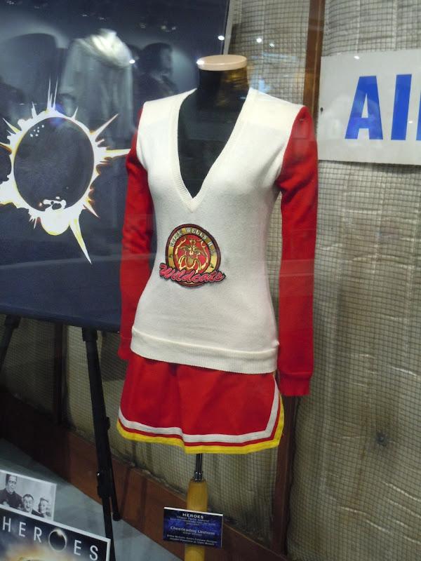 Hayden Panettiere Heroes cheerleader costume