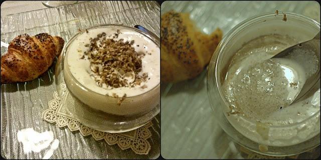 cappuccino di crema di funghi con schiuma di tartufo Marco Di Dedda
