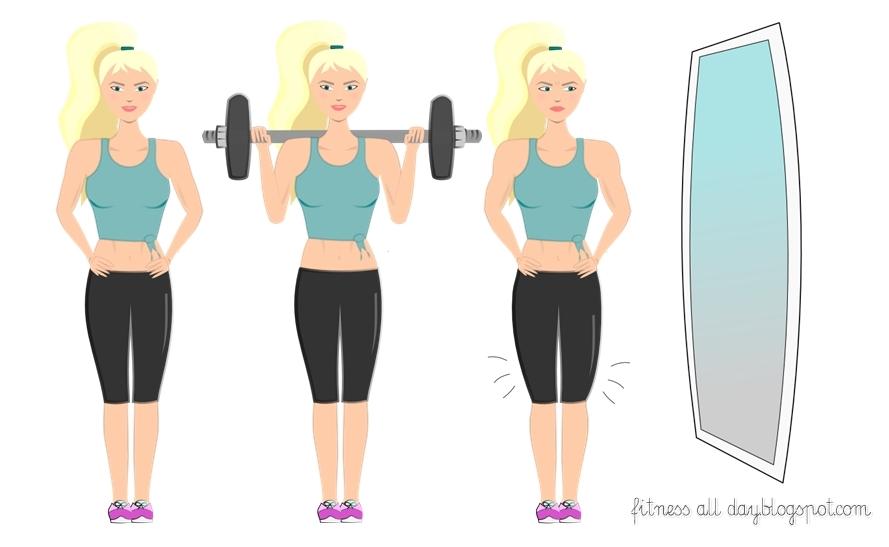 większe mięśnie od ćwiczeń
