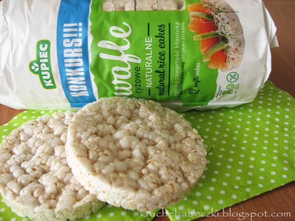 Pyszne wafelki ryżowe do chrupania Kupiec