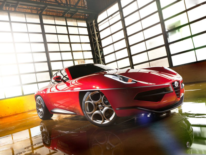 2012 Alfa Romeo Disco Volante Touring Concept Auto Cars Concept