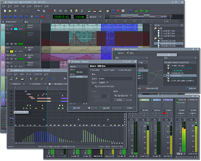 Qtractor 0.5.12 (Audio and MIDI Multi-track Sequencer) Released ...