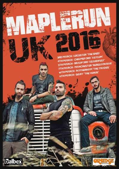 MAPLERUN: Σε Βρετανική περιοδεία