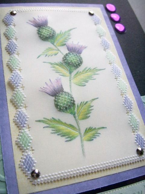 gemini crafts  thistles