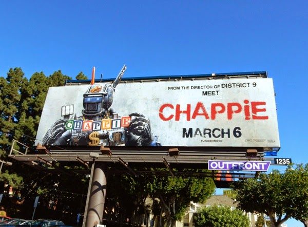 Chappie movie billboard